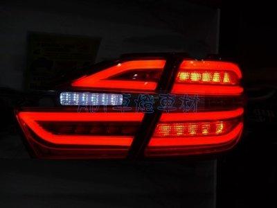 ~~ADT.車燈.車材~~TOYOTA CAMRY 7.5代 15 16 類BENZ 光柱LED紅白尾燈組