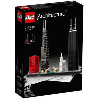 【樂GO】 LEGO 樂高 建築系列 21033 芝加哥 全新 原廠正版
