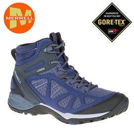 丹大戶外【MERRELL】美國 女款  登山健行多功能鞋 ML37788 紫藍色