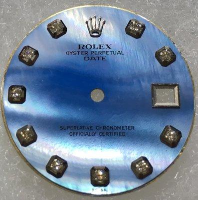 極罕見!勞力士 Rolex 原廠真品 1500 1501 1503 15XX 系列 MOP珍珠母貝 原鑲10鑽面盤