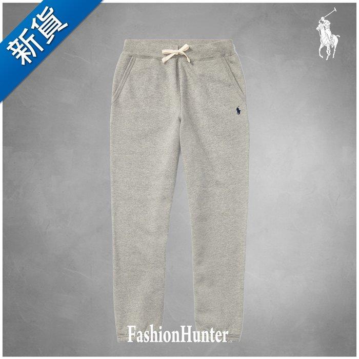 新貨【FH.cc】Polo Ralph Lauren 刷毛 長棉褲 刺繡小馬 灰