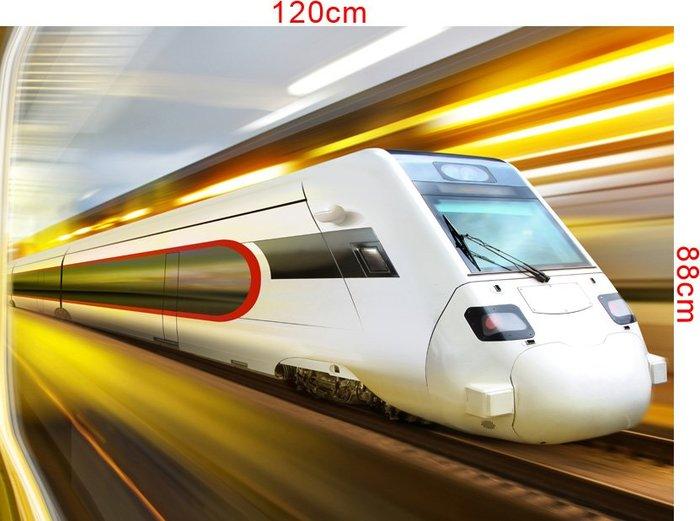 下標區 客製化壁貼 店面保障 編號F-068 高速列車 壁紙 牆貼 牆紙 壁畫 星瑞 shing ruei