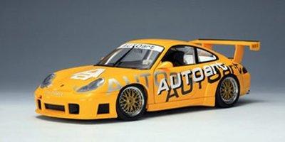 AUTOart廠牌 1:18 PORSCHE 911 (996) GT3R (AUTOart LIVERY) 保時捷【台中AUTO勁車】