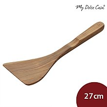Scanwood 橄欖寬木鏟 寬面鏟 長鍋鏟 27cm[LCS19]