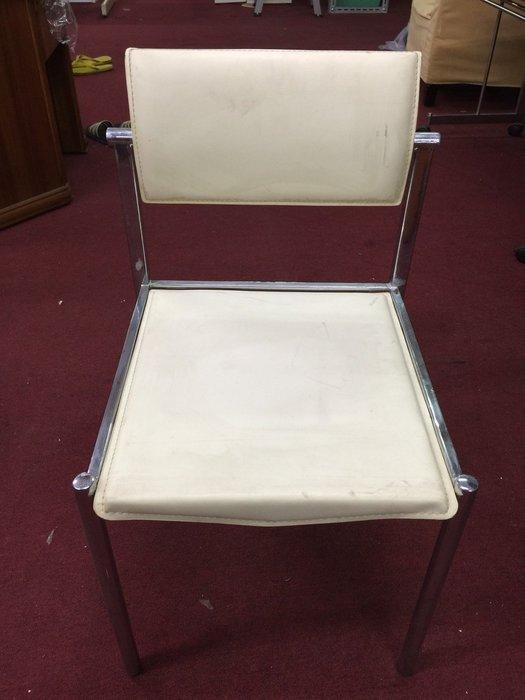 非凡二手家具 不鏽鋼腳 皮餐椅*洽談椅*麻將椅*辦公椅*接待椅*電腦椅*化妝椅*房間椅*沙發椅*咖啡椅