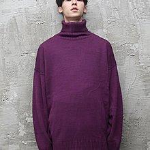 (vincent shop)immense  STORY高領超長袖毛衣