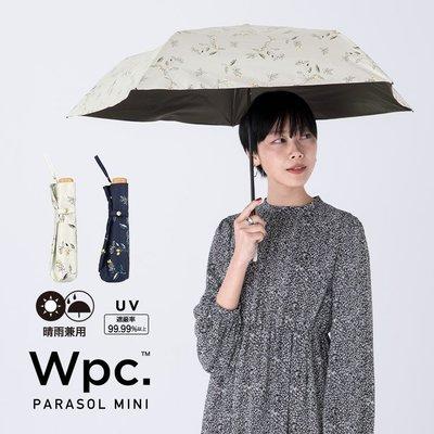 *Gladness day 日韓代購* 預購 日本 Wpc. 抗UV遮光熱輕量迷你摺疊雨傘 木之實 遮陽傘 日傘