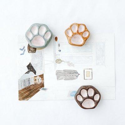 千禧禧居~原來是泥|設計師手工可愛貓爪創意陶瓷冰箱貼家居裝飾磁貼少女心