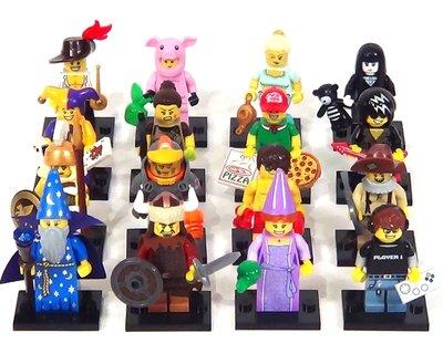 (bear)全新現貨 lego樂高 71007 minifigures  12代人偶 全16隻