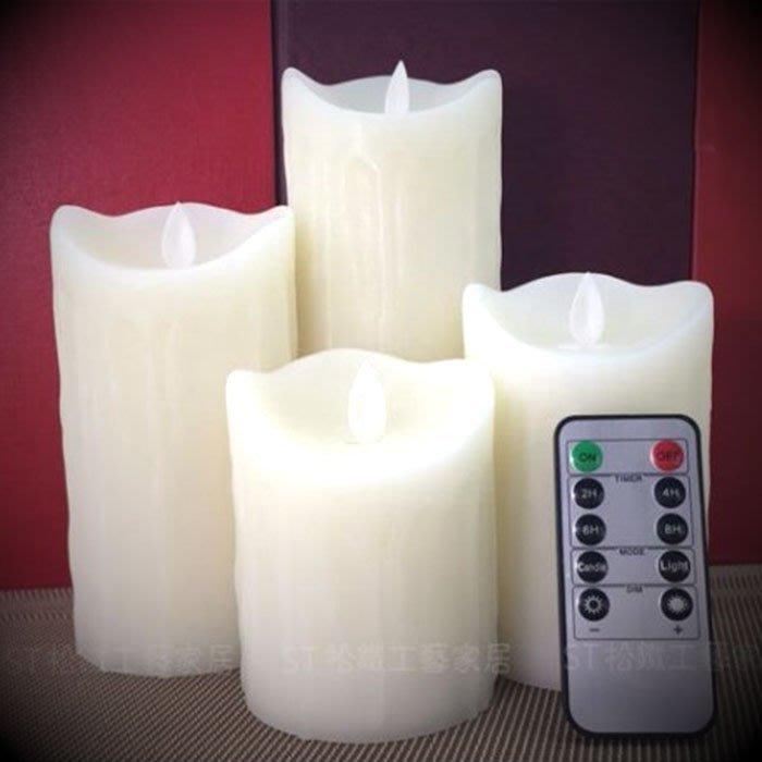 【松鐵工藝家居】 電子蠟燭遙控LED仿真蠟燭燈浪漫表白婚禮佈置酒吧生日裝飾引路燈 餐廳咖啡廳品東西IKEA