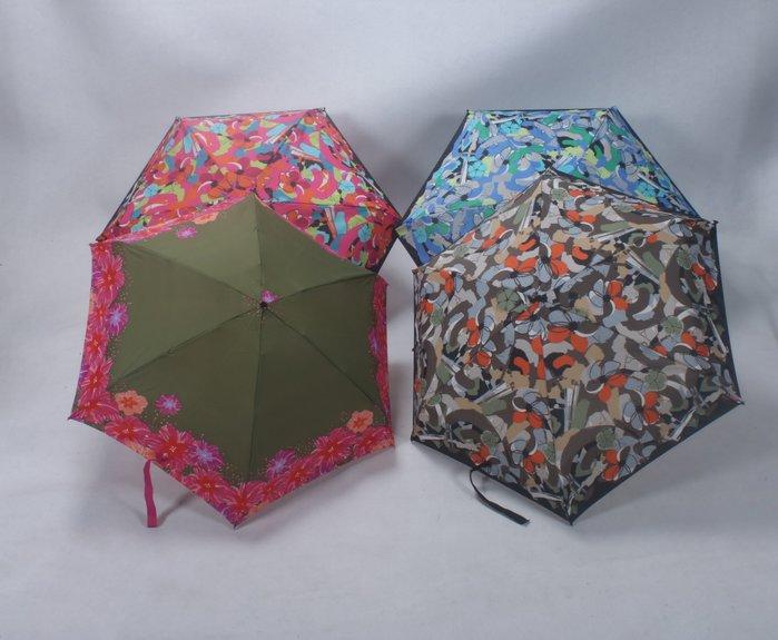 奇奇店-迷你五節口袋傘藝術繁花傘杜邦防水功能傘布#加固 #小清新 #晴雨兩用