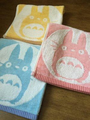 年終 大 【戀上家的秘密】新品 外貿出口 Totoro卡通 純棉超 毛巾 大方巾 三色