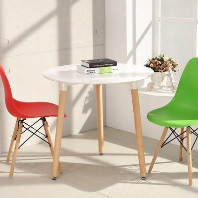 設計款 北歐風簡約80cm圓桌 餐桌 ...