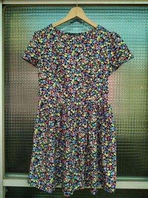 英國品牌 Primark Atmosphere 繽紛花朵短袖洋裝