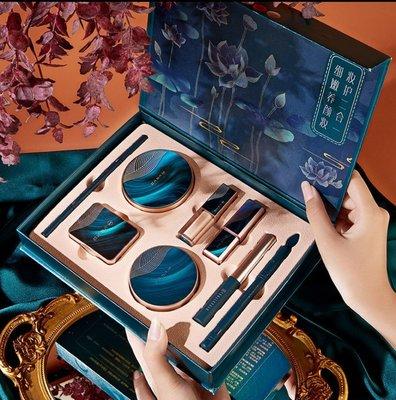 Korea正品現貨美妝【彩妝八件套】李佳琪推薦國潮彩妝禮盒套盒生日情人節春節禮物女