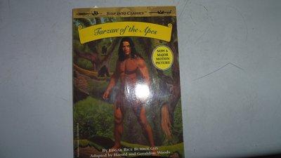 【媽咪二手書】TARZAN OF THE APES 英文童書 有劃記  5A20