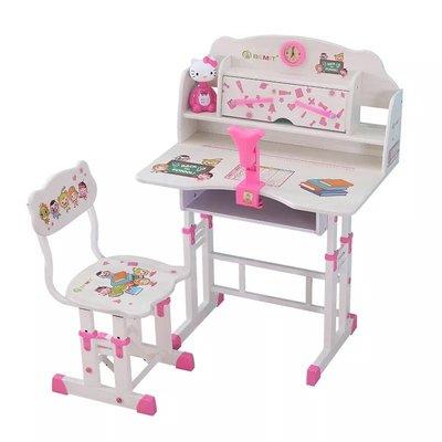 兒童書枱兒童書桌兒童書檯兒童寫字枱學習桌兒童書桌書櫃組合男孩女孩簡約課桌小學生寫字桌椅套裝家用