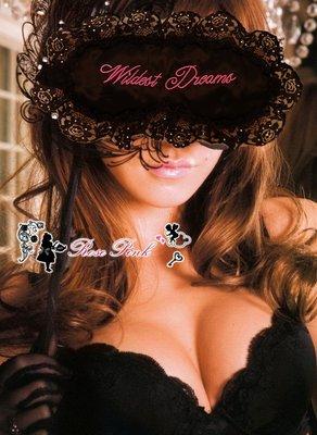 【 RosePink】全新蠶絲眼罩♥Wildest Dreams♥狂野夢境 華麗水鑽蕾絲花邊Lena款 贈收納袋3M耳塞