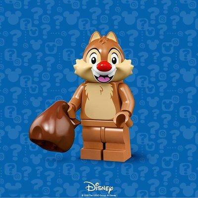 現貨【LEGO 樂高】積木 / 人偶包系列 迪士尼2 DISNEY 71024 | #8 花栗鼠雙胞蒂蒂 Dale