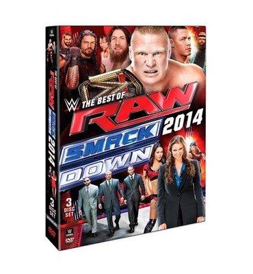 ☆阿Su倉庫☆WWE摔角 Best of Raw and Smackdown 2014 DVD 最佳賽事精選專輯 熱賣中