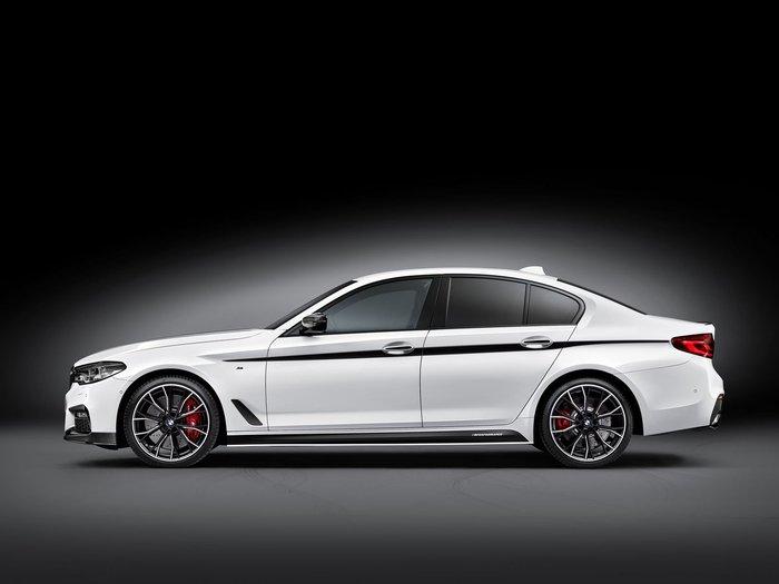 【樂駒】BMW 5 Series G30 M Performance 原廠 改裝 套件 車身 貼紙 外觀