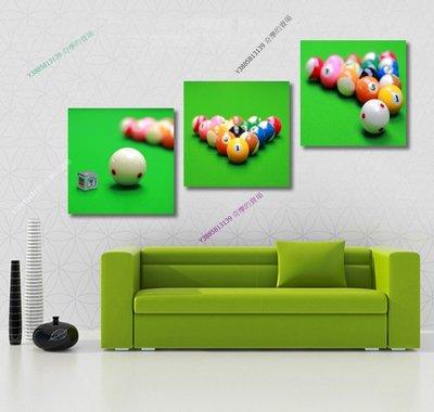 【60*60cm】【厚1.2cm】桌球-無框畫裝飾畫版畫客廳簡約家居餐廳臥室牆壁【280101_386】(1套價格)