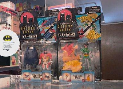 Artlife @ KENNER 1997 DC COMICS DUO FORCE BATMAN ROBIN 蝙蝠俠羅賓