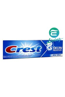 【易油網】CREST 牙膏 DECAY PREVENTION #28010 薄荷味道 100ml #28010