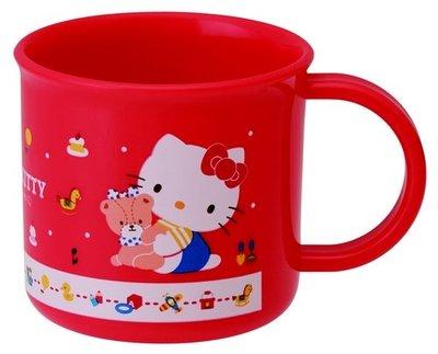 紅色KITTY水杯
