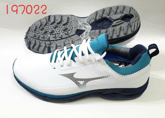 新款上市  Mizuno襪套式 輕量高爾夫球鞋休閒兩用鞋197022 全新品