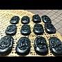 精緻嚴選天然新疆墨玉 [冰種十二生肖] 透光水潤料 十二生肖守護玉佩 一件1205元