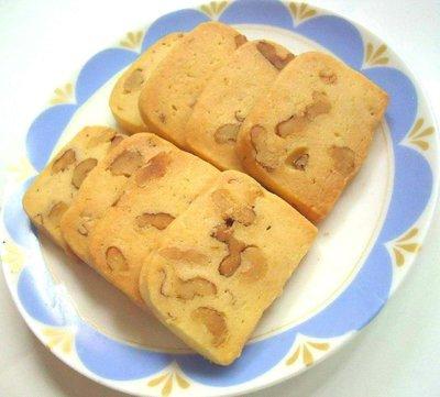 核桃酥餅 (大包200g)手工餅乾~滿500元送1小包餅乾╭ 蓁橙烘焙 ╮