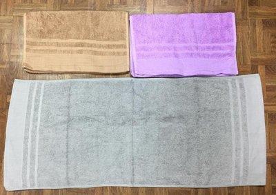 台灣製100%純棉 32兩 深色素面毛巾#買十送二#美髮業用