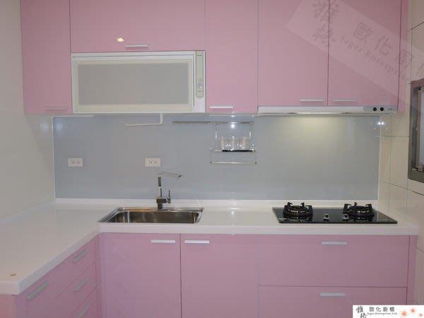 【雅格廚櫃】工廠直營~L型廚櫃、流理台、廚具、結晶鋼烤、含櫻花三機