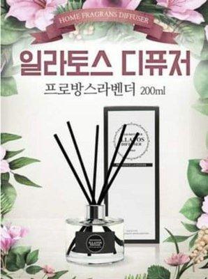 現貨:韓國 ILLATOS 精油擴香瓶 200ml / (1入),多款香味任選 /  Q-10 高雄市
