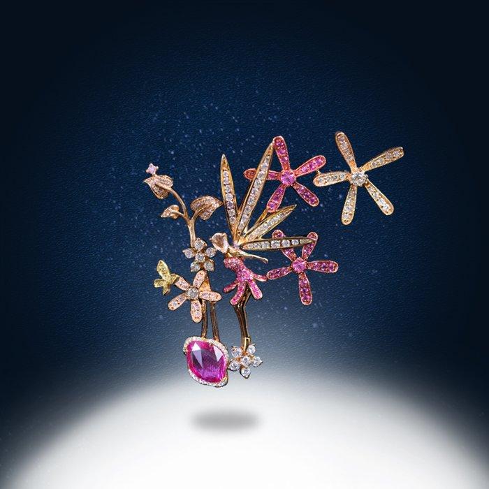 【高品珠寶】首席設計師系列作品-Fantasy-極致夢幻的魅力與感動-4月