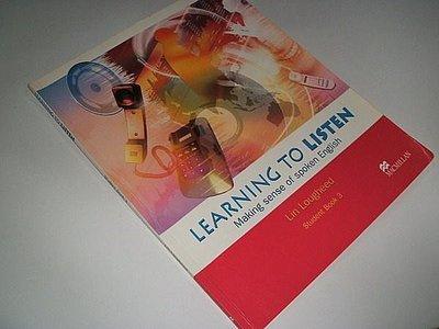 古集二手書RS ~Learning to Listen Student Book 3 Lin Lougheed 0333988914