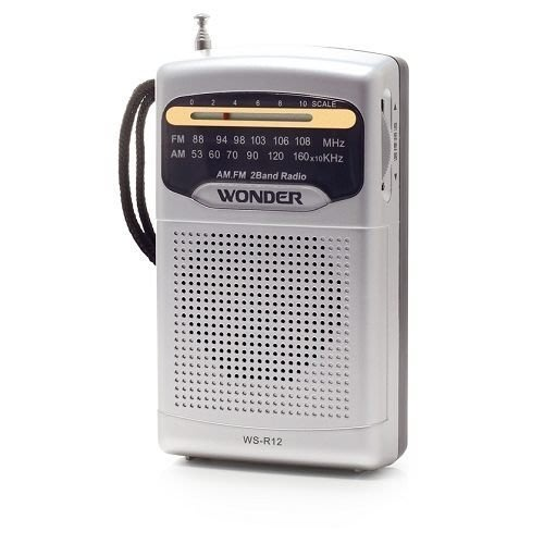 [ㄚ寶3C ] WONDER 旺德 WS-R12 AM/FM 收音機