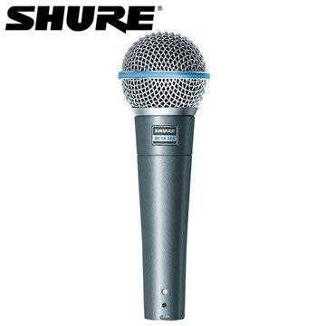 高雄 富豪音響 美國SHURE Beta 58A 有線麥克風 頂級人聲話筒,適用於舞台或錄音室,提供最高24期分期