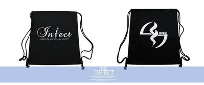 INFECT 14' S/S Drawstring Bag