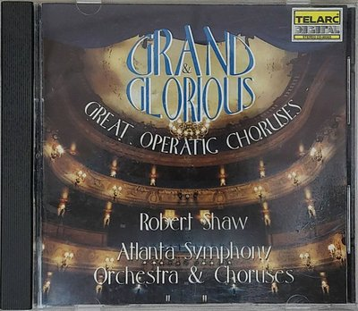 C184-GRAND & GLORIOUS GREAT OPERATIC CHORUSES 無IFPI CD