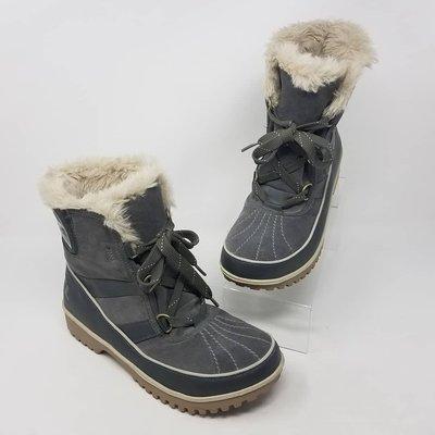 Sorel防水保暖雪靴 短靴 冬靴 灰 Tivoli II Suede Boot Quarry NL2089-052