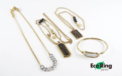 [Eco Ring HK]*Marc by Marc Jacobs Metal Necklace+Bangle*Rank B-207002746-