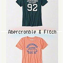 【美國直購】AF A&F Abercrombie&Fitch 女款純棉圓領 短袖 T恤