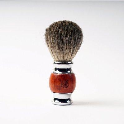 英國 Grand Manner 尊爵系列 純獾毛修容鬍刷(紅檀木)