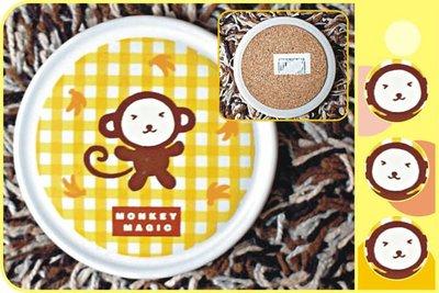 淘氣猴‧MONKEY MAGIC‧圓形造型杯墊【絕版品‧五折特價回饋】