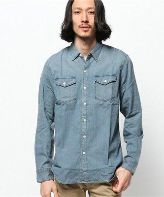 日版 LEVIS 長袖 工作 牛仔 襯衫 外套 現貨 SIZE:XS,S號  RAGEBLUE,HARE