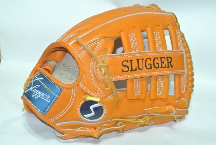 貳拾肆棒球-日本帶回 Kubota Slugger 80週年限定複刻外野手套/日製