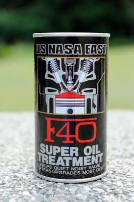 US NASA EAST F40 高級汽機車 競技級引擎機油精 1瓶入 ( PG CITY )