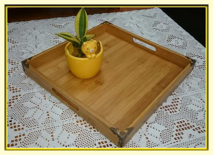 【螢螢傢飾】日式木質拖盤茶盤長方形竹拖盤家用木盤子木制茶水杯盤北歐式燒烤盤
